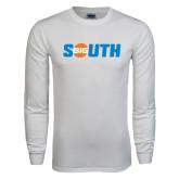 White Long Sleeve T Shirt-Big South