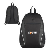 Atlas Black Computer Backpack-Big South