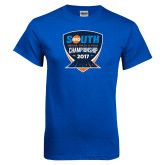 Royal T Shirt-Big South Track and Field Championship