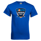 Royal T Shirt-Big South Outdoor Track and Field Championship 2017