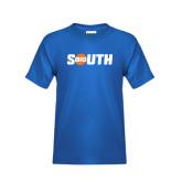 Youth Royal T Shirt-Big South