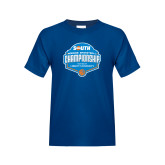Youth Royal T Shirt-Big South Womens Basketball Championship