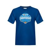 Youth Royal T Shirt-Big South Mens Basketball Championship
