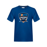 Youth Royal T Shirt-Big South Track and Field Championship