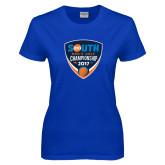 Ladies Royal T Shirt-Big South Mens Golf Championship 2017