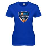 Ladies Royal T Shirt-Big South Womens Golf Championship 2017
