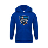 Youth Royal Fleece Hoodie-Big South Track and Field Championship