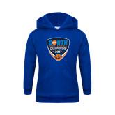Youth Royal Fleece Hoodie-Big South Womens Basketball Championship 2017
