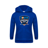 Youth Royal Fleece Hoodie-Big South Outdoor Track and Field Championship 2017