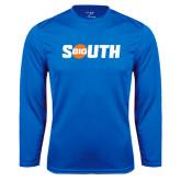 Performance Royal Longsleeve Shirt-Big South