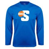 Performance Royal Longsleeve Shirt-Big S
