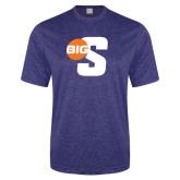 Performance Royal Heather Contender Tee-Big S