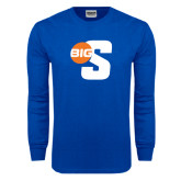 Royal Long Sleeve T Shirt-Big S