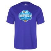 Performance Royal Tee-Big South Womens Basketball Championship