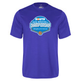 Performance Royal Tee-Big South Mens Basketball Championship