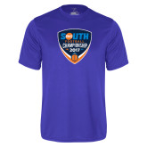 Performance Royal Tee-Big South Football Championship 2017