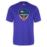 Performance Royal Tee-Big South Mens Basketball Championship 2017