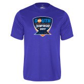 Performance Royal Tee-Big South Outdoor Track and Field Championship 2017