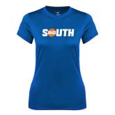 Ladies Syntrel Performance Royal Tee-Big South