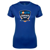 Ladies Syntrel Performance Royal Tee-Big South Track and Field Championship