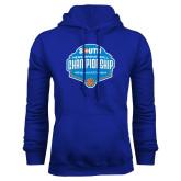 Royal Fleece Hoodie-Big South Mens Basketball Championship