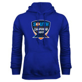 Royal Fleece Hoodie-Big South Track and Field Championship