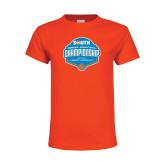 Youth Orange T Shirt-Big South Womens Basketball Championship