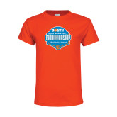 Youth Orange T Shirt-Big South Mens Basketball Championship