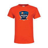 Youth Orange T Shirt-Big South Track and Field Championship