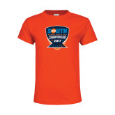 Youth Orange T Shirt-Big South Outdoor Track and Field Championship 2017