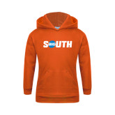Youth Orange Fleece Hoodie-Big South