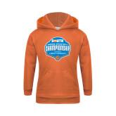 Youth Orange Fleece Hoodie-Big South Womens Basketball Championship