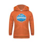 Youth Orange Fleece Hoodie-Big South Mens Basketball Championship