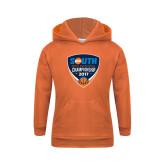 Youth Orange Fleece Hoodie-Big South Mens Basketball Championship 2017