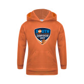 Youth Orange Fleece Hoodie-Big South Womens Lacrosse Championship 2017