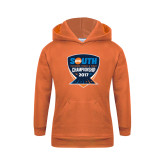 Youth Orange Fleece Hoodie-Big South Outdoor Track and Field Championship 2017