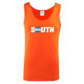 Orange Tank Top-Big South