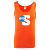 Orange Tank Top-Big S