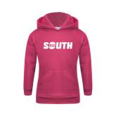 Youth Raspberry Fleece Hoodie-Big South