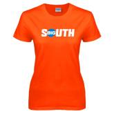 Ladies Orange T Shirt-Big South