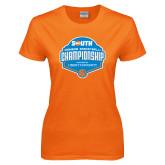 Ladies Orange T Shirt-Big South Womens Basketball Championship