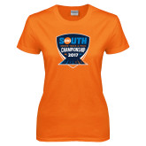 Ladies Orange T Shirt-Big South Track and Field Championship