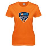 Ladies Orange T Shirt-Big South Womens Golf Championship 2017