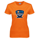 Ladies Orange T Shirt-Big South Outdoor Track and Field Championship 2017