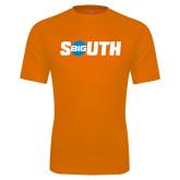 Performance Orange Tee-Big South