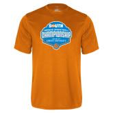 Performance Orange Tee-Big South Womens Basketball Championship