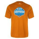 Performance Orange Tee-Big South Mens Basketball Championship