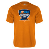 Performance Orange Tee-Big South Track and Field Championship