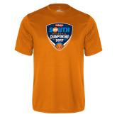 Performance Orange Tee-Hardies Big South Baseball Championship 2017
