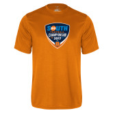 Performance Orange Tee-Big South Football Championship 2017
